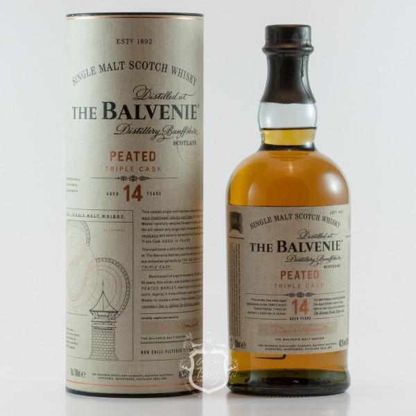 Balvenie 14 Jahre  Peated Triple Cask