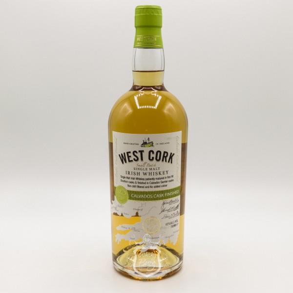 West Cork Irish Whiskey Calvados Cask Finish