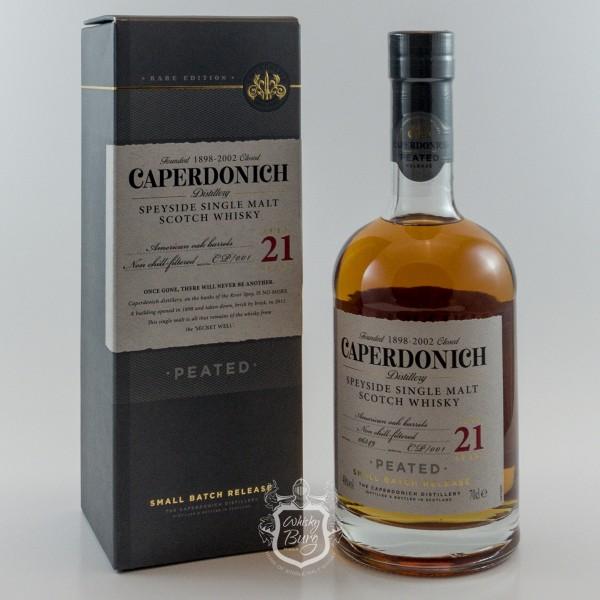 Caperdonich 21 Jahre Peated