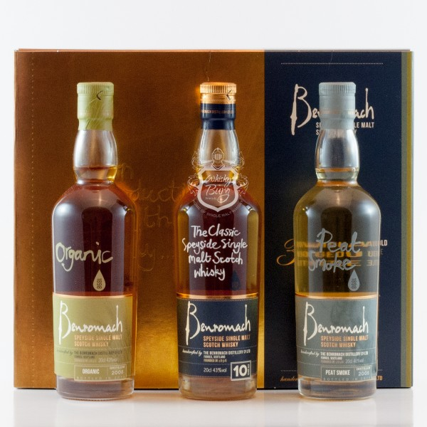 Benromach Collection 3x 02 Liter