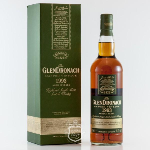 Glendronach 1993 Vintage 25 Jahre
