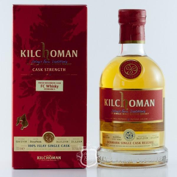 Kilchoman 2008 FC Whisky Denmark Edition 9