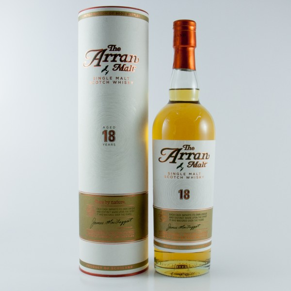 Arran 18 Jahre Pure by Nature