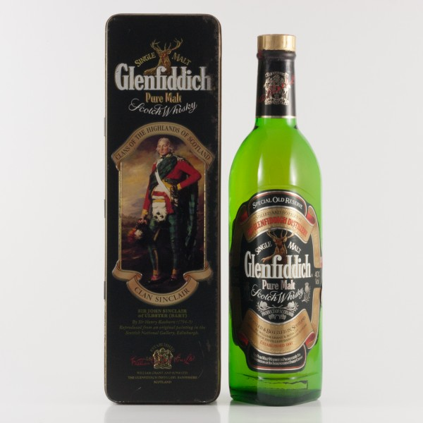 Glenfiddich Clans of the Highlands Clan Sinclair