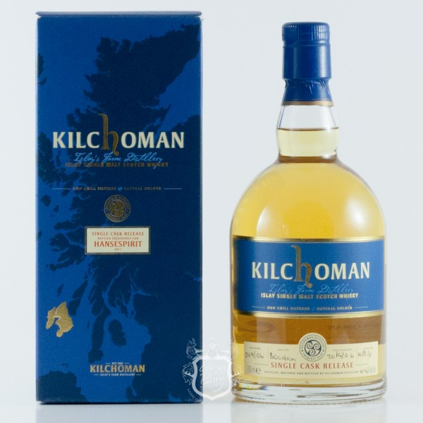 Kilchoman 2006 Single Cask For Hansa Spirit