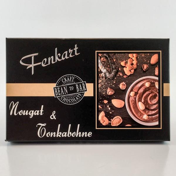 Fenkart Tafelschokolade Nougat & Tonkabohne