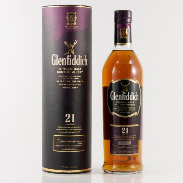 Glenfiddich 21 Jahre Rum Cask Finish